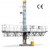Buy cheap 1500Kg Payload Mast Climbing Work Platform For Building Construction , High Performence from wholesalers