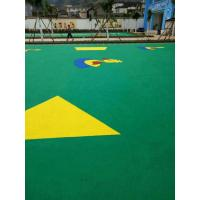 Quality Lightweight Rubber Playground Mats With Excellent UV Resistance for sale