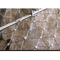 China Weatherproof Stainless Steel Wire Rope Net , Easy Installation Ss Rope Mesh on sale