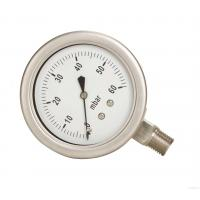 China Bourdon Type Pressure Gauge 150mm Dia Dial Size DN15 BSP Thread Process Connection on sale