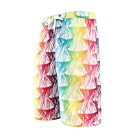 Quality Digital Print Polyester Baggy Gradient SUP Board Shorts for sale