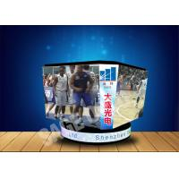 Quality Sport Stadium Cube Advertising LED Screen 160000 Pixels/㎡ Customized for sale
