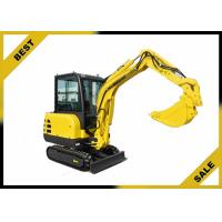 Quality 2.2t Water Cooling System Caterpillar Hydraulic Excavator 2660 Mm Dumping Height for sale
