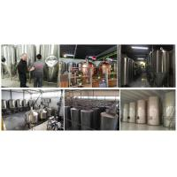 stainless steel sparkling wine fermentation tank