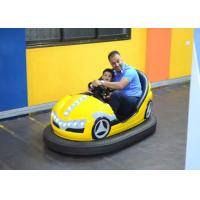 Quality Double Seats Indoor Kids Dodgem Cars Built In MP3 Music Box Control for sale