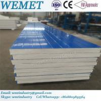 Quality EPS fire proof insulated wall panel for steel warehouse, prefabricated hosue for sale