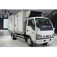 Quality ISUZU Ice Refrigerated Delivery Truck Cold Room Van Truck 10CBM - 12CBM for sale