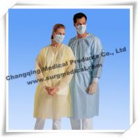 China Spunbonded Disposable Isolation Gowns PP/ PP W PE / SMS Material on sale