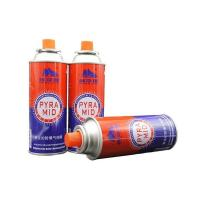 China Disposable butane gas cartridge 220g and cast iron aerosol canister on sale