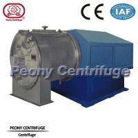 Quality Automatic 2 Stage Pusher basket centrifuge used for removing moisture from salt mixture for sale