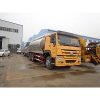 Quality 16CBM Bitumen Distribution Tanks Trucks And Trailers Howo 10 Wheel Three Insulation Layers for sale