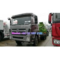 Quality LHD & RHD 6x4 Tri-Ring 375HP 8--12CBM concrete cement mixer truck for Thailand for sale