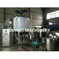 Quality Shampoo Agitator Mixing Tank Large Volume High Speed Disperser Long Service Life for sale
