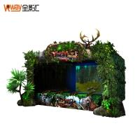 Quality Multiple Player Motion Sensing Games 4D Crazy Hunting Game Projector Screen for sale