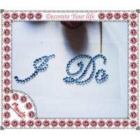 Buy I Do Letter Sticker For Wedding Shoes at wholesale prices