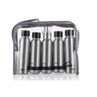 Quality ODM Cosmetic Travel Bottle Set Aluminum Makeup Small Packaging Personal Care for sale