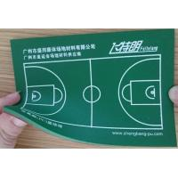 Quality Outdoor Basketball / Badminton Court PU Sports Flooring Poly Floor Coating for sale