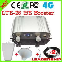 Quality 15E AGC MGC New LTE Mobile Signal Amplifier 65db 4G 2600MHZ Signal Booster 4G LTE Repeater for sale