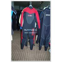 China Full diving wetsuits back zipper,long sleeve on sale