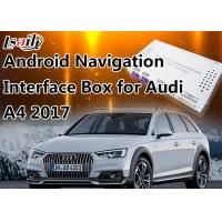 Quality 7 Inch Audi Multimedia Interface for 2017 A4 4G MMI with GPS 16GB Flash MirrorLink for sale