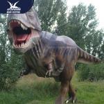 Quality Amusement Park / Theme Park Animatronic Dinosaur Statue Decoration for sale