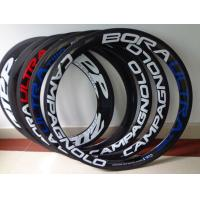 China Replacement Carbon Fiber Carbon Bicycle Rims / Cycle Carbon Clincher Rim 700c 50mm on sale