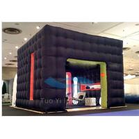 Quality Airtight Inflatable Photo Booth / PVC Tarpaulin Party Photo Booth Tent for sale