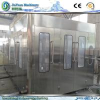 Buy cheap Built for Mass Production, Pure, Mineral Water Filling Machine With 304/316 Sataineless Steel Welded Frame product