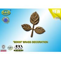 Buy cheap Ref No BD033 Brass leaf tombstone decoration bronze leaves material copper alloy product