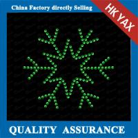 China hot fix rhinestone transfer ;hotfix transfer for christmas;latest designer for christmas decoration on sale