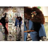 Buy cheap Ceramic Plates Clothes Window Display , Different Patterns Shop Front Display from wholesalers