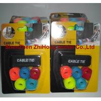 Quality OEM wholesale multi-size adjustable self-locking Velcro cable tie wrap tapes for sale