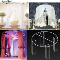 Quality Wholesale cheap pipe and drape for events telescopic pipe and drape wedding decoration diy pipe and drape stand for sale