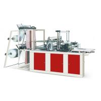 Buy Four Lines Plastic Poly Bag Making Machine Cold Cutting For Flat Opening Bags at wholesale prices