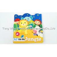 OEM Funny Baby Sound Books with 6 PET Button Small Sound Module