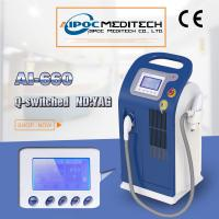 Floor standing q-switched nd yag laser tattoo removal machine nd yag laser