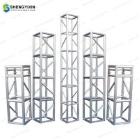 China Aluminum Concert Line Array Speaker lighting lift stage truss Aluminum Square 290x290mm Truss from china wuxi on sale
