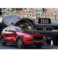 Quality Mazda CX-5 video interface Android Box Gps with Mazda origin knob control for sale
