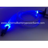 China LED Light 4 Colors Micro USB Data Transfer Cable/USB Data Charging Cable on sale