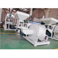45kw Dust Free Plastic Grinding Mill High Speed Rotating 100 Mesh Wind Conveying for sale