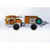 Buy cheap Wheeled Robotic Telescopic Arm Concrete Shotcrete Machine from wholesalers