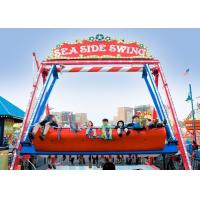 Quality Double Sided Pirate Ship Amusement Ride With Dynamic Music And Gorgeous Lights for sale