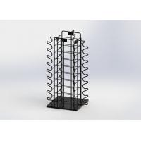 Quality Sunglasses Eyewear Metal Counter Display Stands With Rotated Base for sale