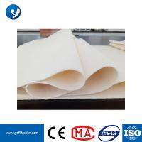 Quality Excellent Thermal Stability PPS with PTFE Membrance Cement Filter Socks PPS Soft Felt for sale