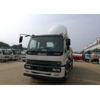 Quality 10 Tons Sewer Vacuum Truck , 10CBM ISUZU Sewage Suction Truck Customized Color for sale