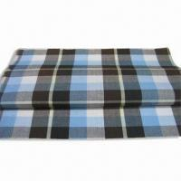 Quality 100% Cotton Yard Check Fabric with Easy Care Finish, Available in Width of 57 or 58-inch for sale