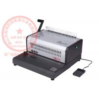 China Electricty Wire Coil Binding Machine , ISO9001 Manual Comb Binding Machine on sale