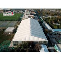 China 3-80m clear span aluminum and pvc tents for sports, big tents for sports court, temporary tructure for sports court on sale