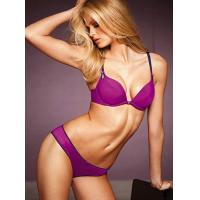 Buy cheap Purple, Black, Blue Customized Convertible Cotton Plus Size Push Up Womens Underwear Bras product