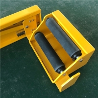 Quality Slope Temporary Parking 4T Family Car Anti Theft Lock With Rubber Sheet for sale